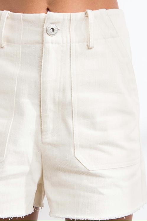 Denim Crew Shorts