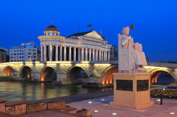 skopje-city-center-at-night-macedonia-iv