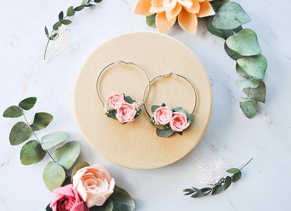 créoles roses
