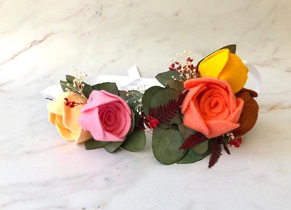 Couronne de fleurs Nouméa