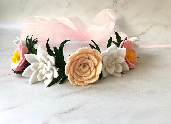 Couronne de fleurs Pékin