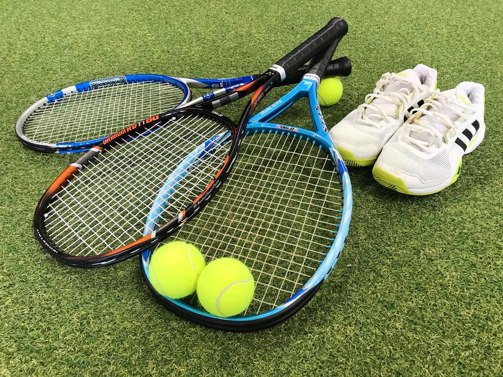 テニススクール写真