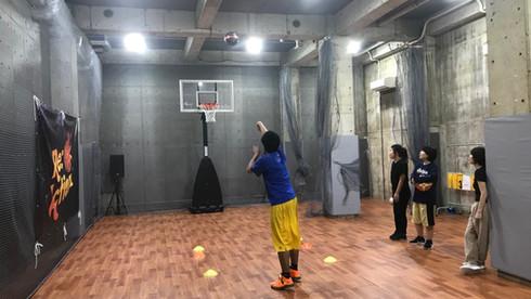 バスケットフリースロー対決