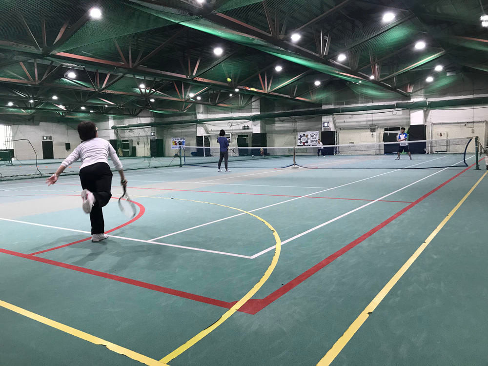 柏インドアテニススクール水曜日