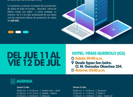 Evento Data Domain Grupo SYPSA y DELL EMC – Viñas Queirolo (Ica)