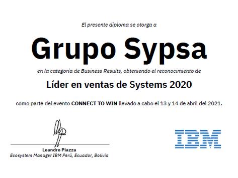 IBM CONNECT TO WIN 2021: Premiación Grupo SYPSA