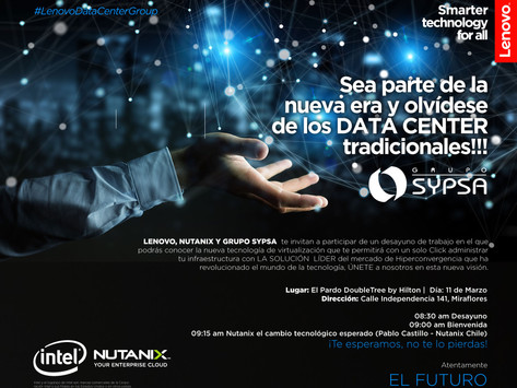 Desayuno Hiperconvergencia: Grupo SYPSA - NUTANIX - Lenovo