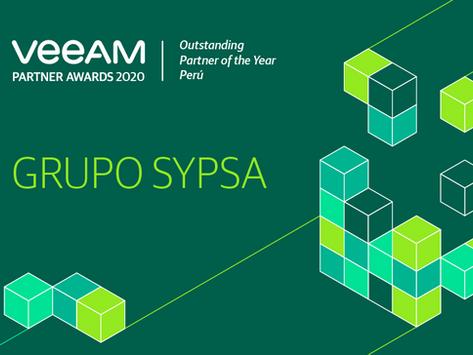 Premio VEEAM - Outstanding Partner of the Year Perú.