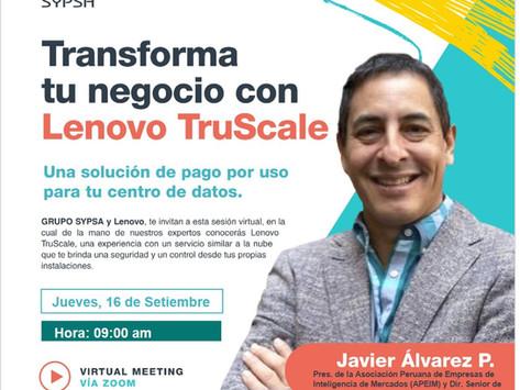 Presentación Lenovo TruScale