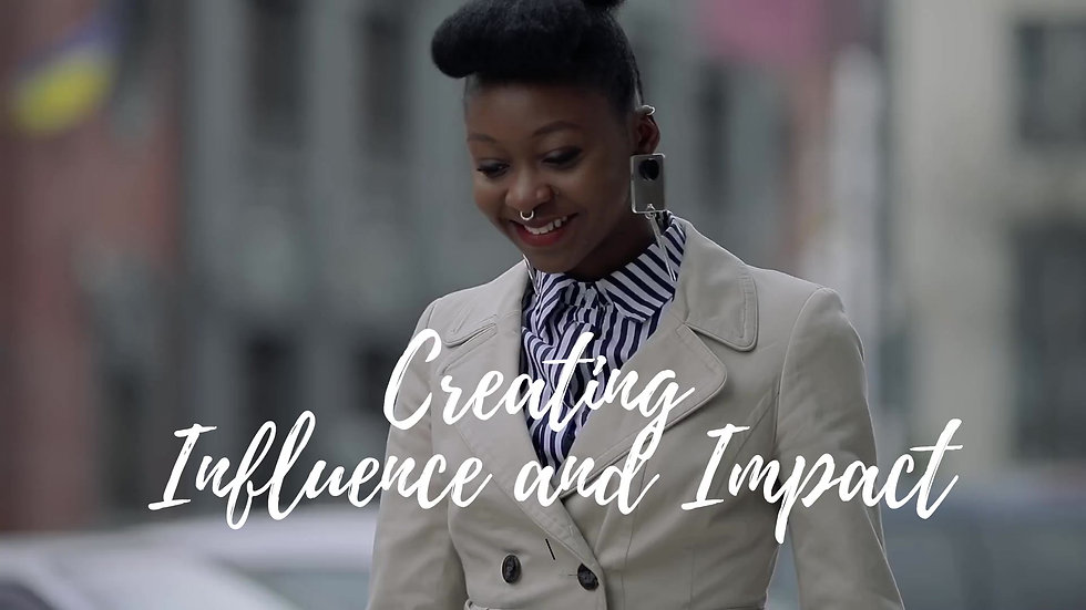 Personal Brand, Influence, Impact, Confidence