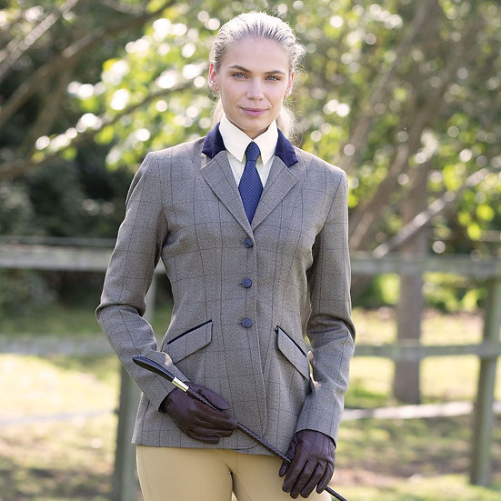 EQUETECH FOXBURY DELUXE TWEED RIDING JACKET