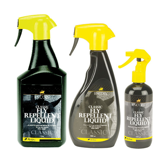 Lincoln Classic Fly Repellent Liquid- 500ml & 1L