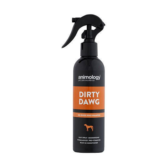 Animology Dirty Dog Dog NO RINSE Shampoo - 250ml