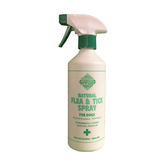 Barrier Natural Flea & Tick Spray - 400ml