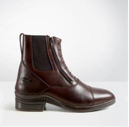 Brogini  Vasto Double Zipped Jodhpur Boots