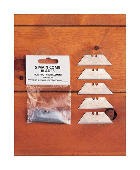 5 Main Comb Blades