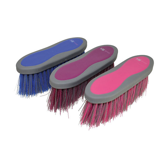 HY Shine Active Groom Dandy Brush Long Bristles