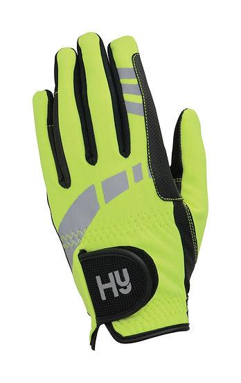 Hy5 Childrens Reflective Softshell Gloves