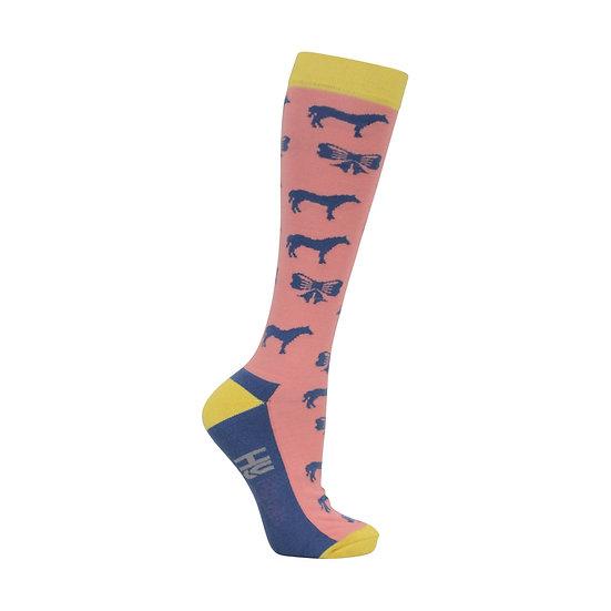 HY Fashion Newmarket Socks (Pack 3) UK 4-8