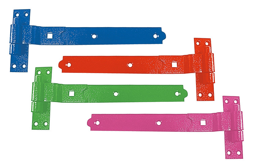 """Perry 18"""" Cranked Hook and Bands Stable Door Hinges 1 Pair"""