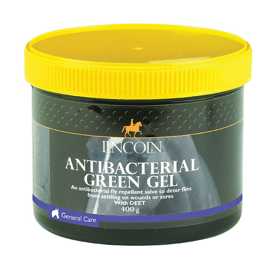 Lincoln Antibacterial Green Gel - 400g