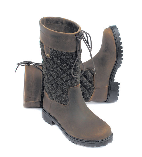 Rhinegold Elite Georgia Tweed Country Boot