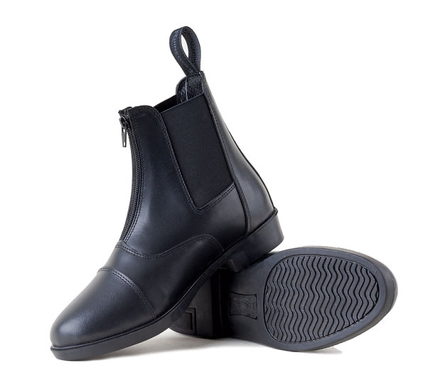 Rhinegold Boston Front Zip Paddock Boots