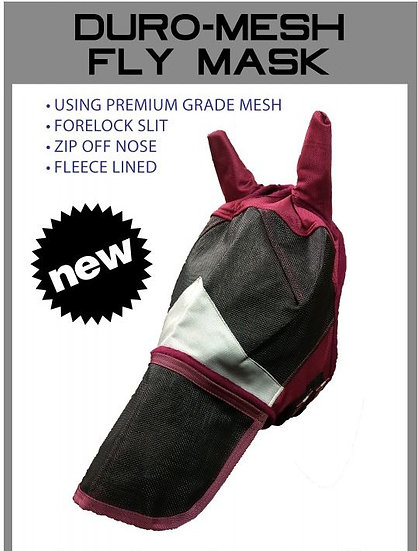 BRANSBY Sheldon Duo Mesh Fly Mask