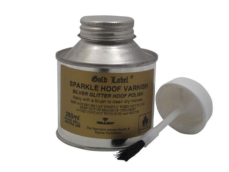 Gold Label Sparkle Hoof Varnish - 250ml