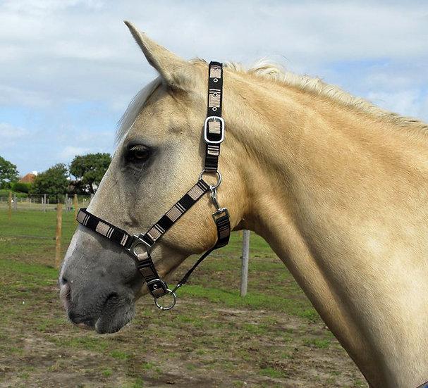Rhinegold Neoprene Lined Checked Headcollar
