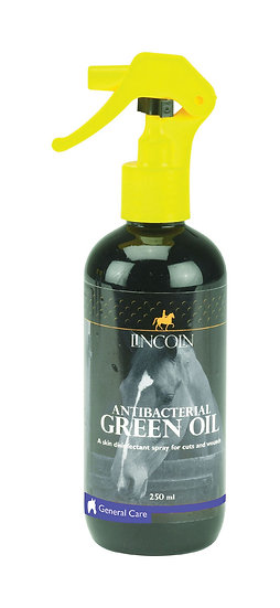 Lincoln Antibacterial Green Oil Spray - 250ml