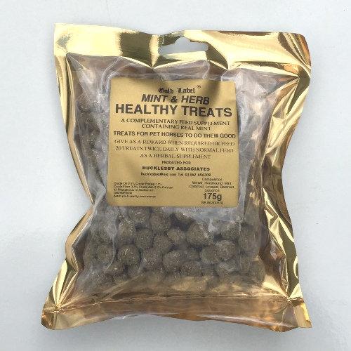 Gold Label Mint & Herb Treats - 175g