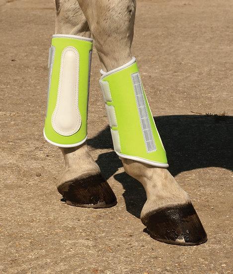 Harlequin Reflective Brushing Boot