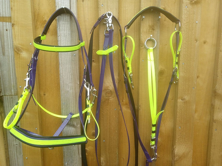 Militay Bridle, Reins and Breastplate