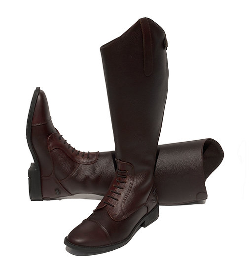 Rhinegold Elite Luxus Extra Wide Leather Riding Boot