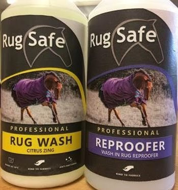 RugSafe Twin Pack Rug Wash & Reproofer  250ml