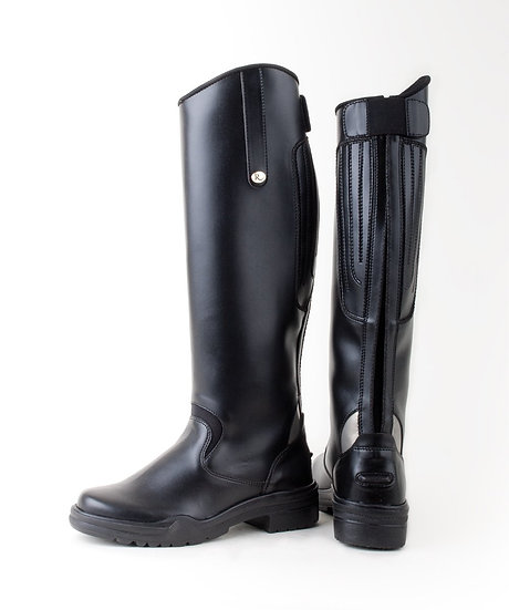 Rhinegold Nebraska Synthetic Long Riding Boots