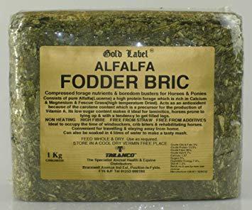 Gold Label Alfalfa Fodder Brick