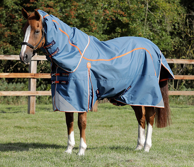 Premier Equine AKONI STRATUS 0g Turnout Rug with Neck Cover