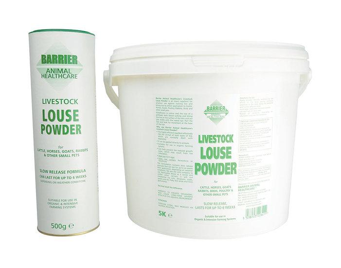 Barrier Livestock Louse Powder