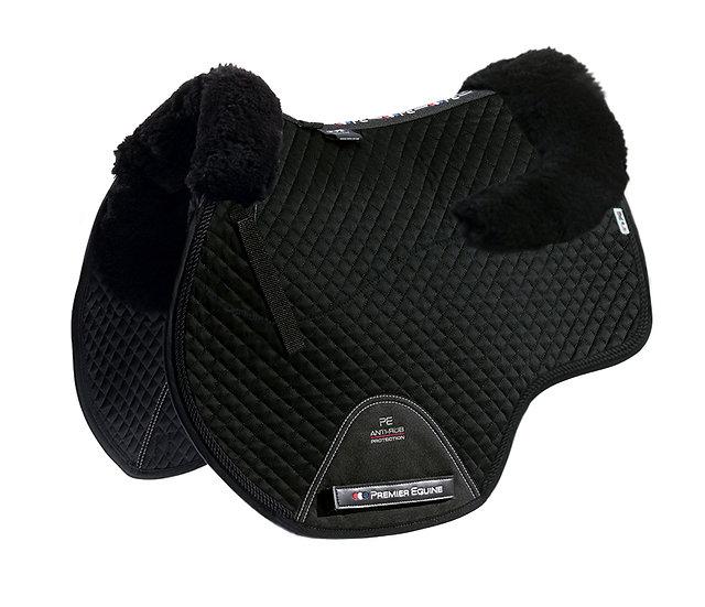 Premier Equine Merino Wool European Saddle Pad - GP/Jump Square FULL