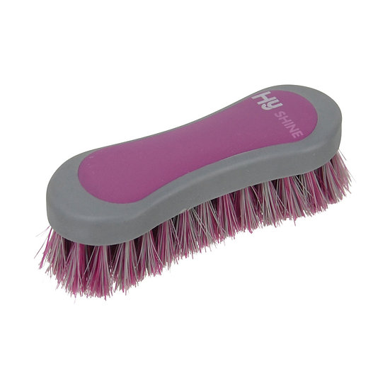 HY Shine Active Groom Face Brush - Port Royal or Royal Blue