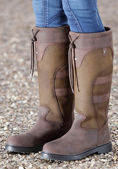 Premier Equine Muckle Roe Leather Country Boot