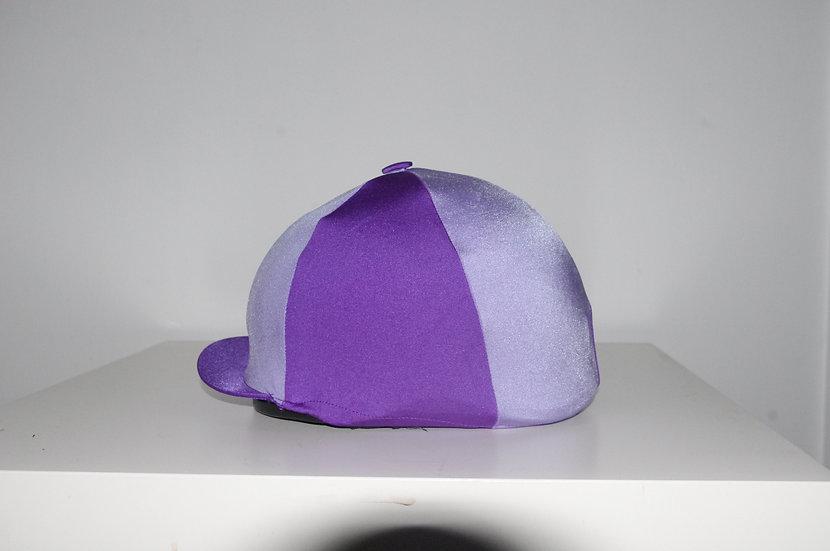 Capz Purple/Lilac Lycra Skull Silk