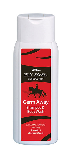 Fly Away Germ Away Shampoo & Body Wash - 400ml