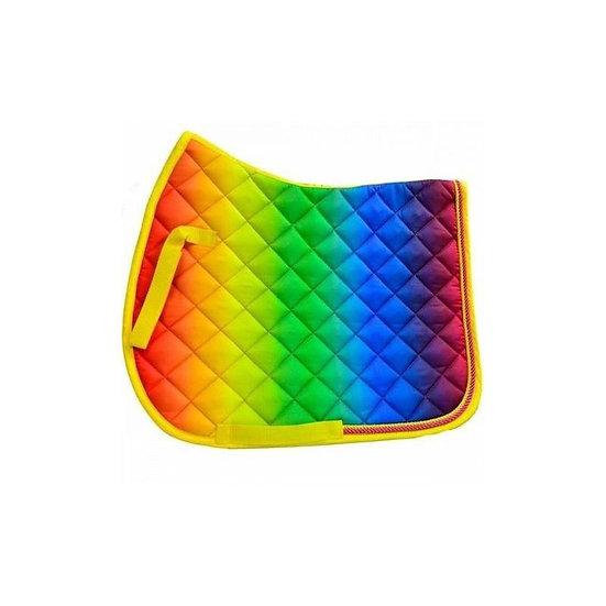 Sheldon Rainbow Saddle Pad