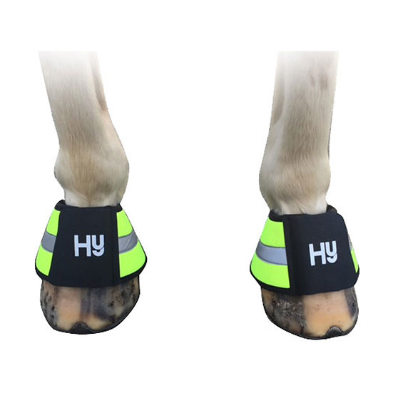HY Reflective Over Reach Boots