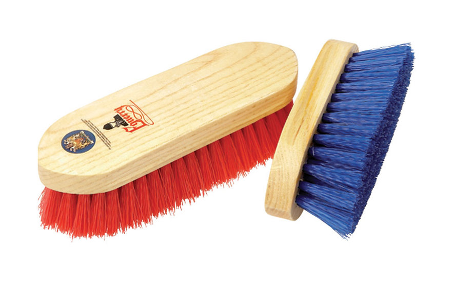 Equerry MEDIUM Wooden Dandy Brush - Polypropylene