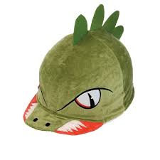 Equetech Dino Dave Hat Silk