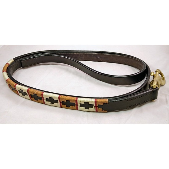 Leather Polo Dog Lead